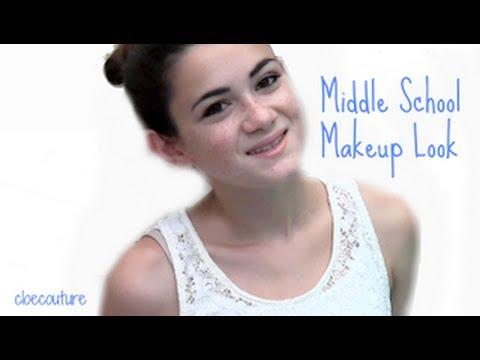 Middle School Makeup Look!
