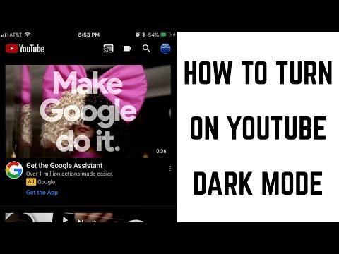 How to Turn On YouTube Dark Mode