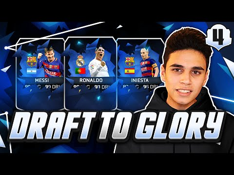 TOTY MESSI & RONALDO! ANOTHER FINAL! - FUT DRAFT TO GLORY #04 - FIFA 16 Ultimate Team