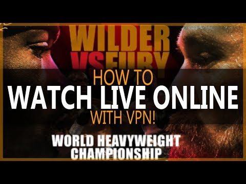How To Watch Wilder VS Fury Online   How To Live Stream Wilder Vs Fury