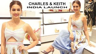 Kriti Kharbanda Launches CHARLES & KEITH INDIA EXCLUSIVE WEDDING COLLECTION
