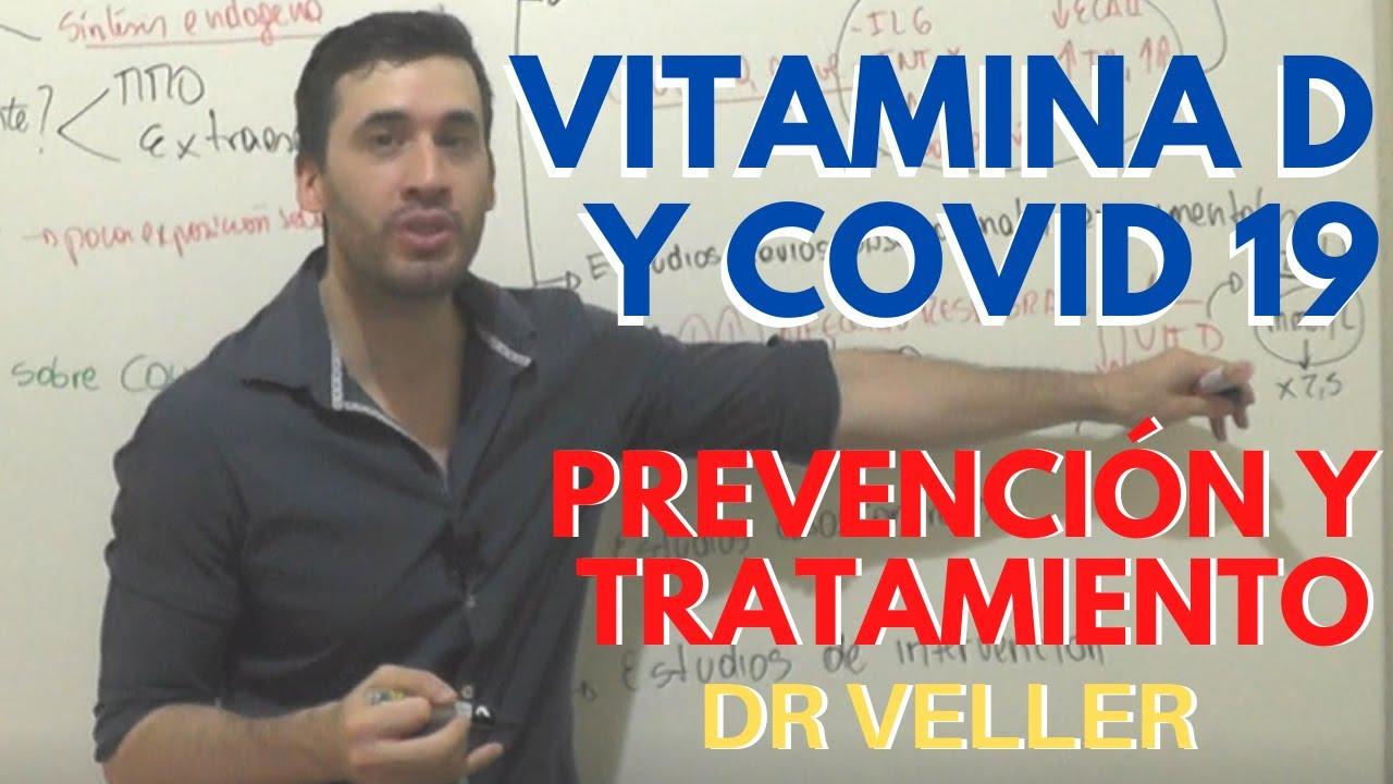 VITAMINA D y COVID 19 | Prevención y tratamiento (evidencia actual)