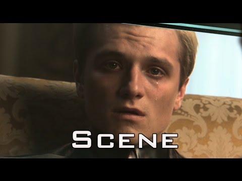 The Hunger Games: Mockingjay Part 1 - Second Interview of Peeta Mellark in HD [Full Scene]