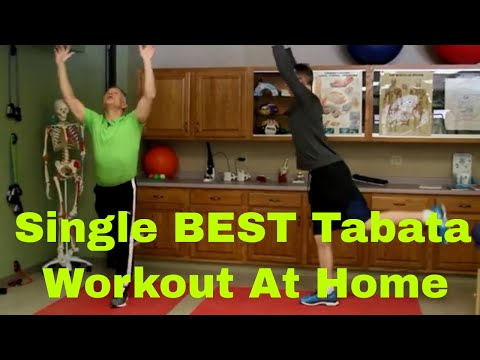 Single BEST 4 Minute Tabata Workout At Home