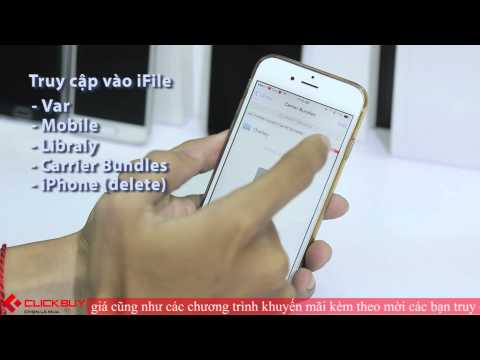 Khắc phục lỗi cập nhật Carrier trên iPhone lock (test on iPhone 6) - Clickbuy's Channel