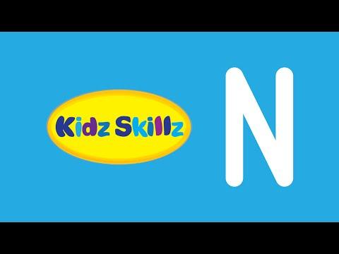 Kidz Skillz: Uppercase N