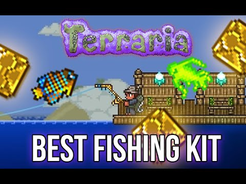 Best Fishing Kit (How to get Quest Fish and Crates) | Terraria 1.3.3