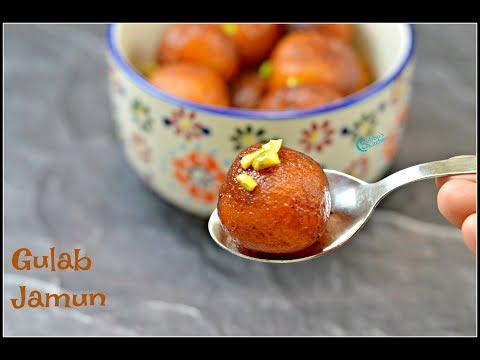 Gulab Jamun Recipe | Gulab Jamun with Khoya (Mawa) | Diwali Sweets