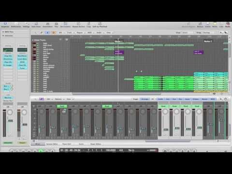 Randal - Citadel of Energy (Hardstyle project in logic pro 9)
