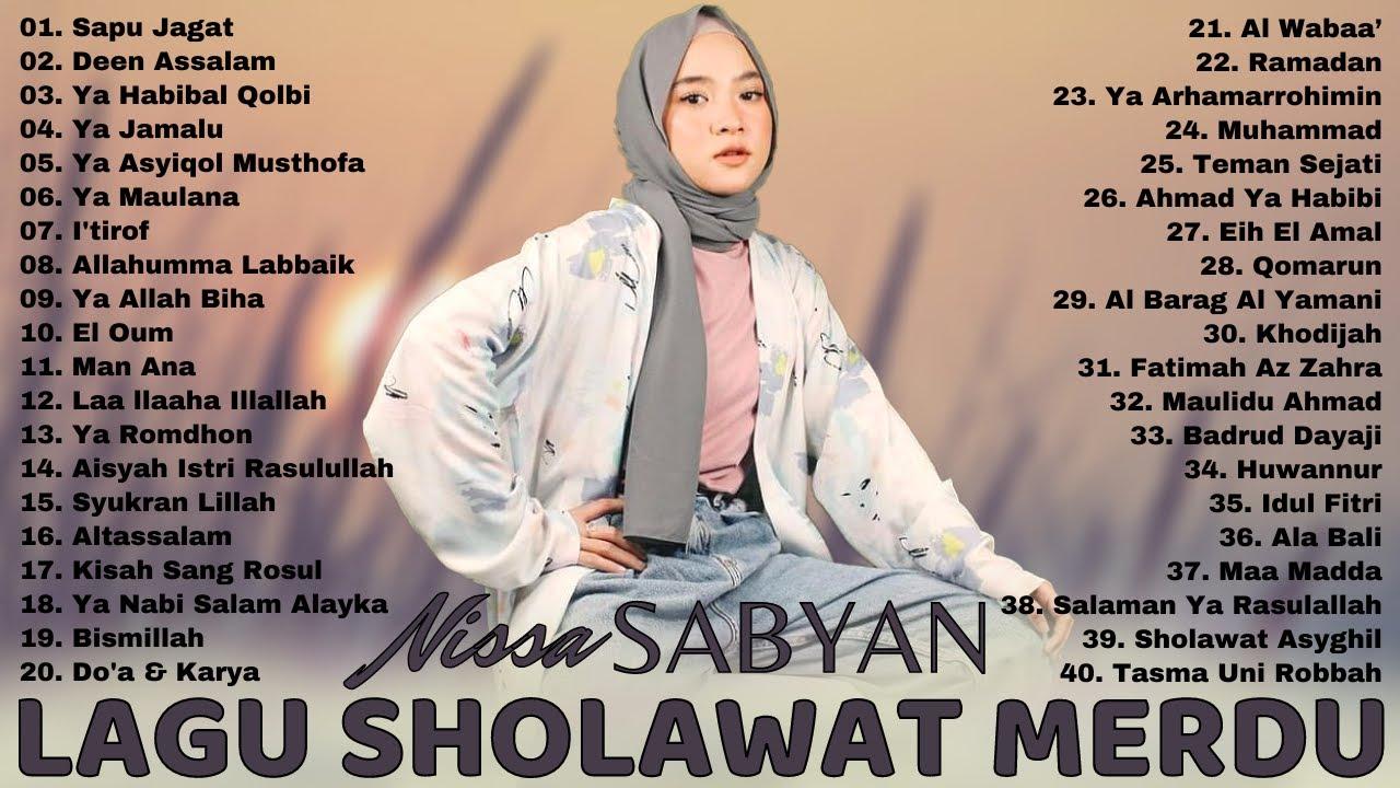 Download Nissa Sabyan Terbaru 2021 [Full Album] Lagu Sholawat Nabi Merdu Terbaru 2021 Penyejuk Hati MP3 Gratis