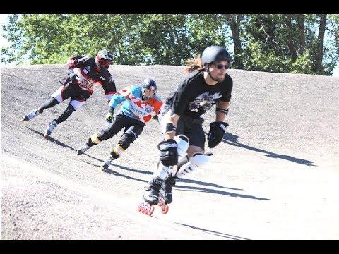 Skate Cross 2017 Stony Plain practice