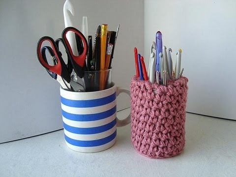 stand up crochet hook holder crochet pattern