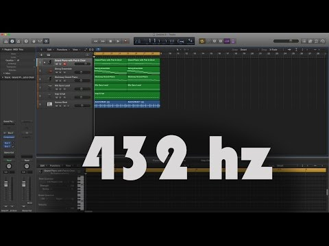 Logic Pro X - Convert your music to 432 hertz - SlickWidiT