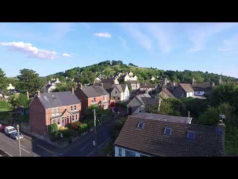 last moment.. Drone crash, dji phantom 3 advanced crashed footage retrieved from corrupted video