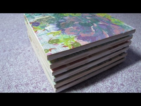Make Pretty Customized Ceramic Tile Coasters - Home - Guidecentral