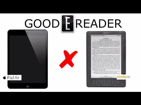 Amazon Kindle DX vs iPad AIR