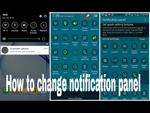How to change notification panel in your android phone नोटिफिकेशन पैनल कैसे चेंज करें