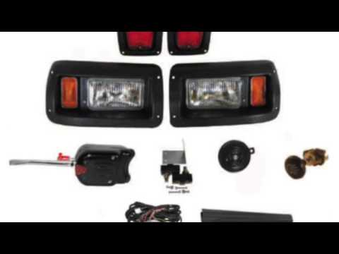 Club Car DS Headlight & Tail light Kit Deluxe Street Package New Golf Cart Part