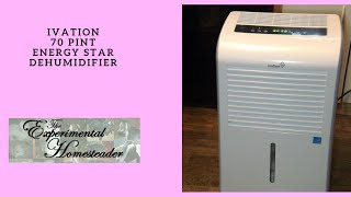 Ivation 70 Pint Energy Star Dehumidifier