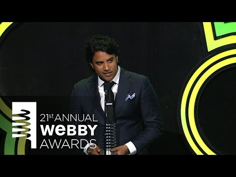 Niantic's 5-Word Speech at the 21st Annual Webby Awards