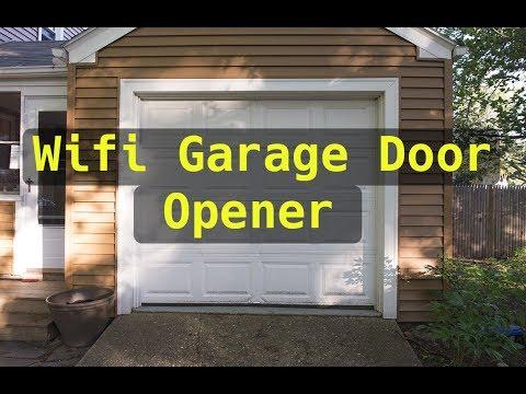 Wifi Controller Garage Door Opener - Summer Project