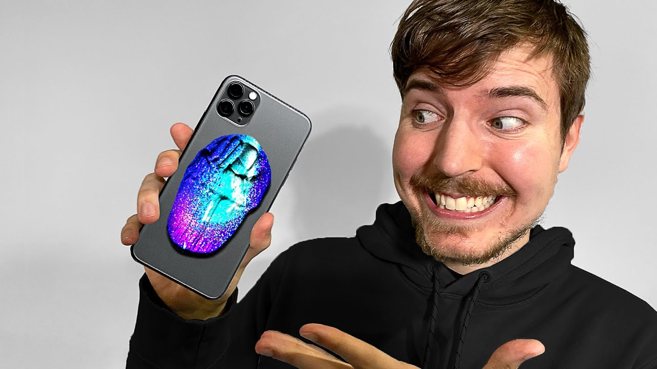 I Surprised MrBeast With 50 Custom iPhone 11s