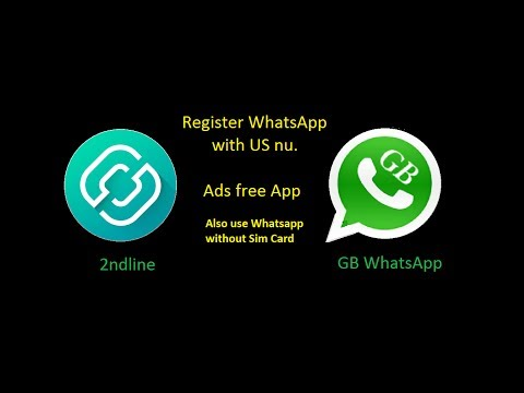 Latest Trick For WhatsApp Register With USA Nu. In (Hindi 2017 without using Primo or Sim)💯%Working
