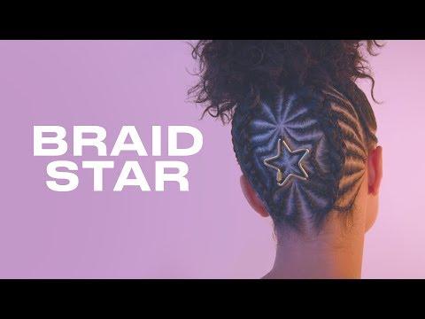 Shadowhunters Star Alisha Wainwright Gets a Star Braid Hairstyle | Braid Star | ELLE