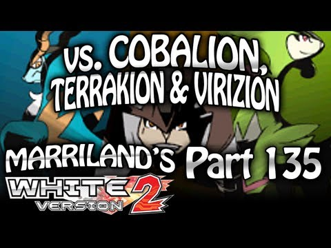 Pokemon White 2, Part 135: Catching Cobalion, Terrakion & Virizion