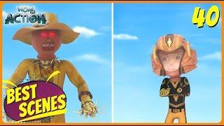 BEST SCENES of VIR THE ROBOT BOY | Animated Series For Kids | #40 | WowKidz Action