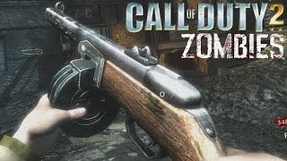 """COD2 Guns Zombie Mod! """"Call of Duty Zombies"""" Der Riese WaW Gameplay"""