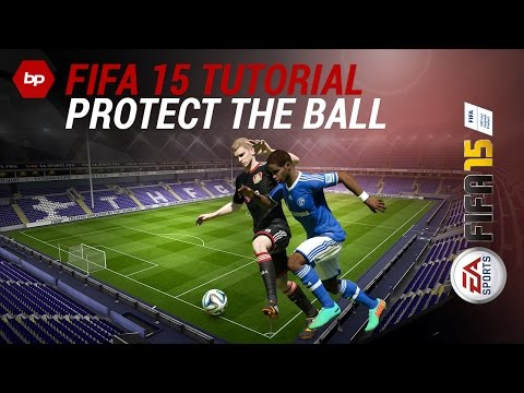 FIFA 15 TUTORIAL | How to PROTECT THE BALL | Beat the defender | Tipps and Tricks [PS4/Xbox One]