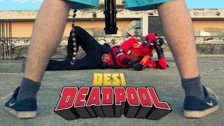 DESI DEADPOOL AND THE SUPERHEROES