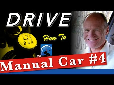 How To Drive A Manual Car in Traffic (Intermediate) :: Lesson #4