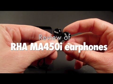 [Review] RHA MA450i iPhone-Compatible Earphones