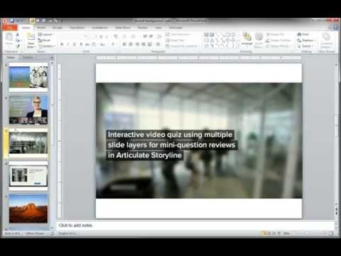 PowerPoint Tutorials: How to Create Blurred Background Effects