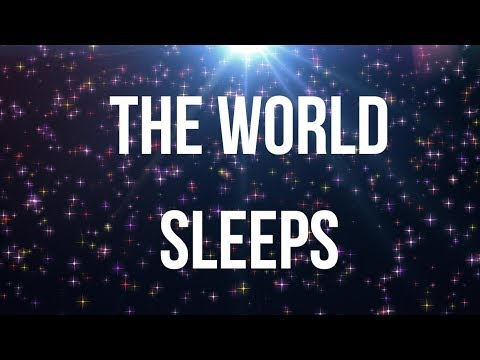 THE WORLD SLEEPS (Music version) A beautiful guided meditation for universe grounding & deep sleep