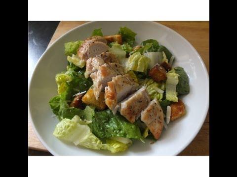 Homemade Grilled Chicken Caesar Salad using Original Dressing Recipe Ingredients