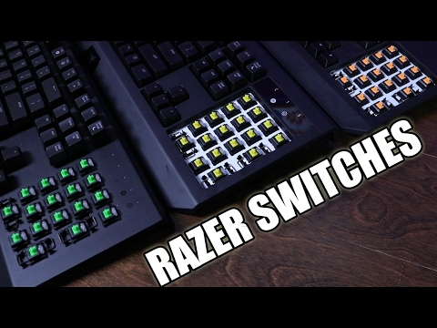 Which Razer Switch is Best for YOU - A Full Comparison with Sound Test