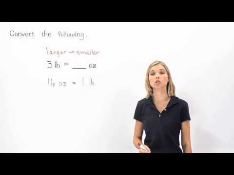 Customary Unit Conversions | MathHelp.com