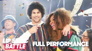 """Serena Williams Joins Andy Roddick for """"Finesse"""" by Bruno Mars   Lip Sync Battle"""