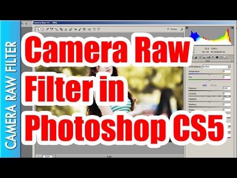 Camera Raw Filter in Adobe Photoshop CS 5 || Rayarakula Karnakar
