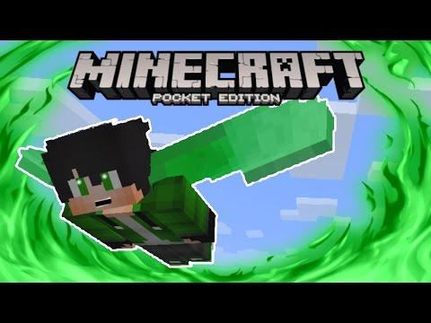 Minecraft Pocket Edition 0.17.0 Update - CUSTOM ELYTRA WINGS TUTORIAL!