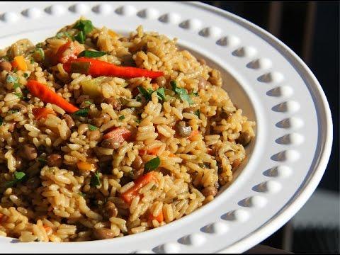 Gluten Free Vegetarian Pelau Recipe.