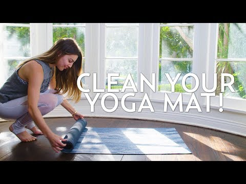 Why You Should Clean Your Yoga Mat with Danielle Cuccio
