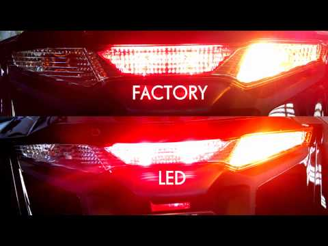 F6B - Factory vs LED Rear Tail and Turn Signals