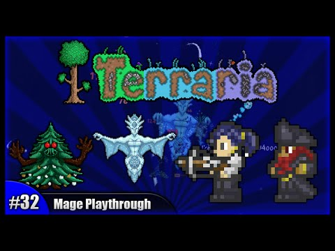 Let's Play Terraria 1.2.4 || Mage Class Playthrough || Lucky Pirate Invasion & Events! [Episode 32]