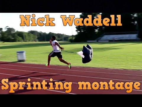 Nick Waddell Sprinting Montage