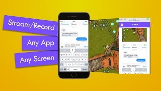 Livestream and record Apps from your iPhone without a computer - vidih.com