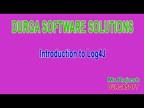 Introduction to Log4J